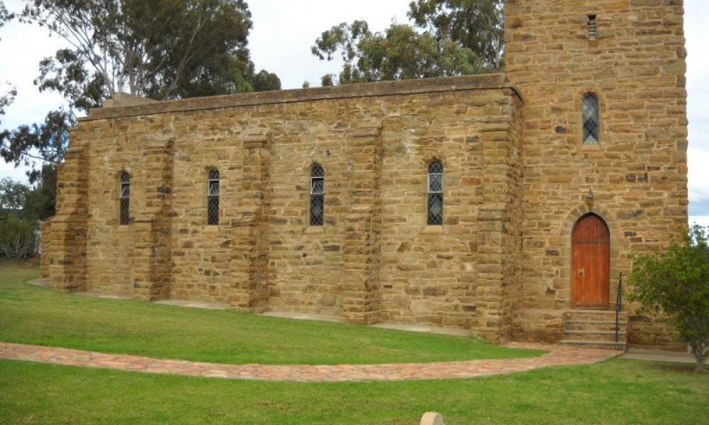 BONNIEVALE Mary Myrtle Rigg Memorial Church
